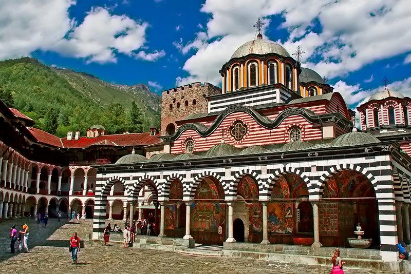 "фото """"Rila monastery"""" метки: архитектура, пейзаж,"