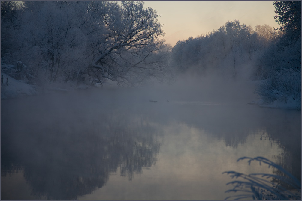 """фото """"Доброе утро Зима!"""" метки: пейзаж, вода"""