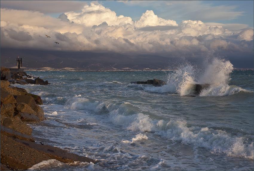 """фото """"Опять  штормит"""" метки: пейзаж, вода"""