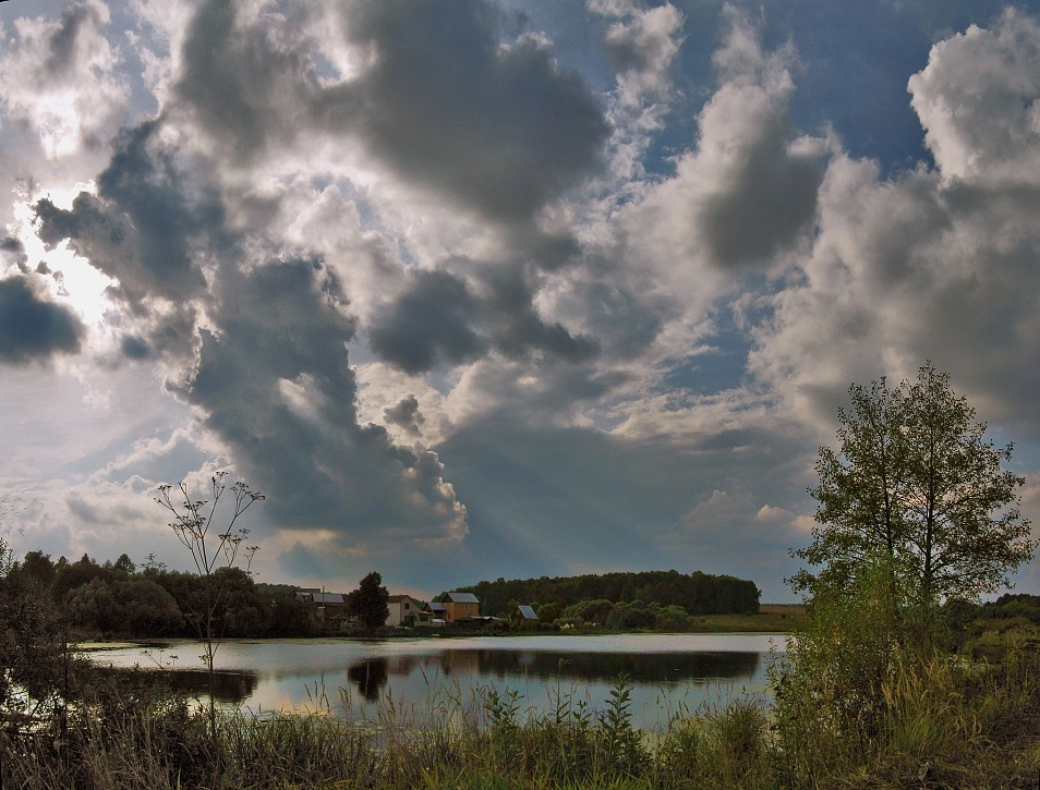 "фото ""Кавардак с облаками"" метки: пейзаж, облака, осень"