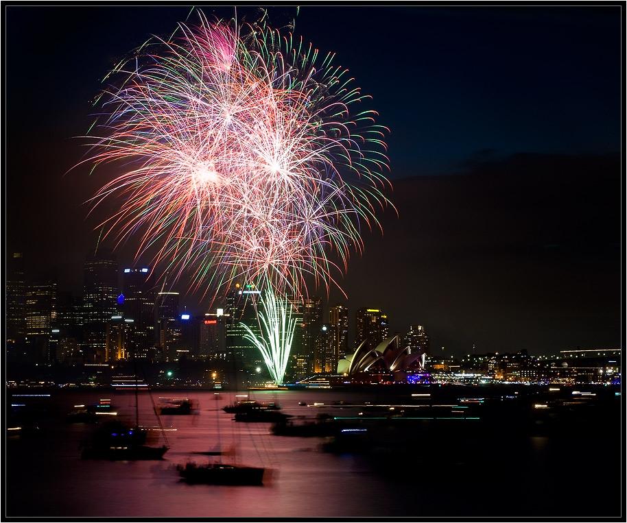 """фото """"Sydney 2010"""" метки: пейзаж, путешествия, Австралия, ночь"""