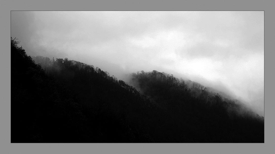 """фото """"Холмы Абхазии далекой"""" метки: пейзаж, горы"""