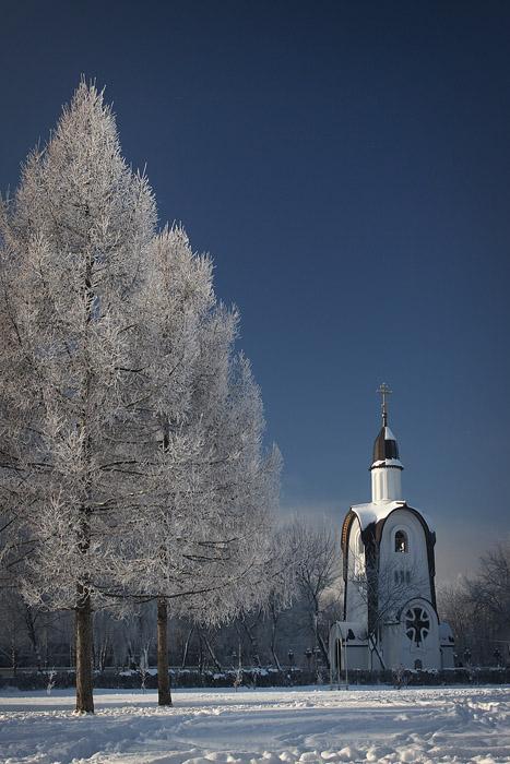 """фото """"Морозный январь"""" метки: пейзаж, зима"""