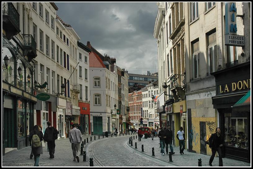 "фото ""В Брюсселе..."" метки: город, путешествия, Европа"