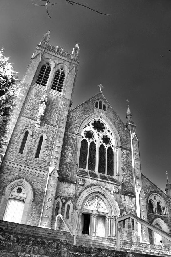 "фото ""Собор святой Марии. Ирландия..."" метки: город, архитектура, пейзаж,"