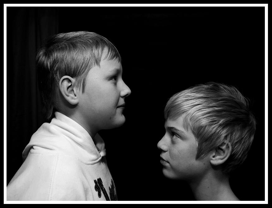"""фото """"Brothers Enface"""" метки: портрет, жанр, дети"""