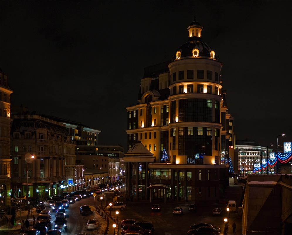 "фото ""Балчуг вечером"" метки: город,"