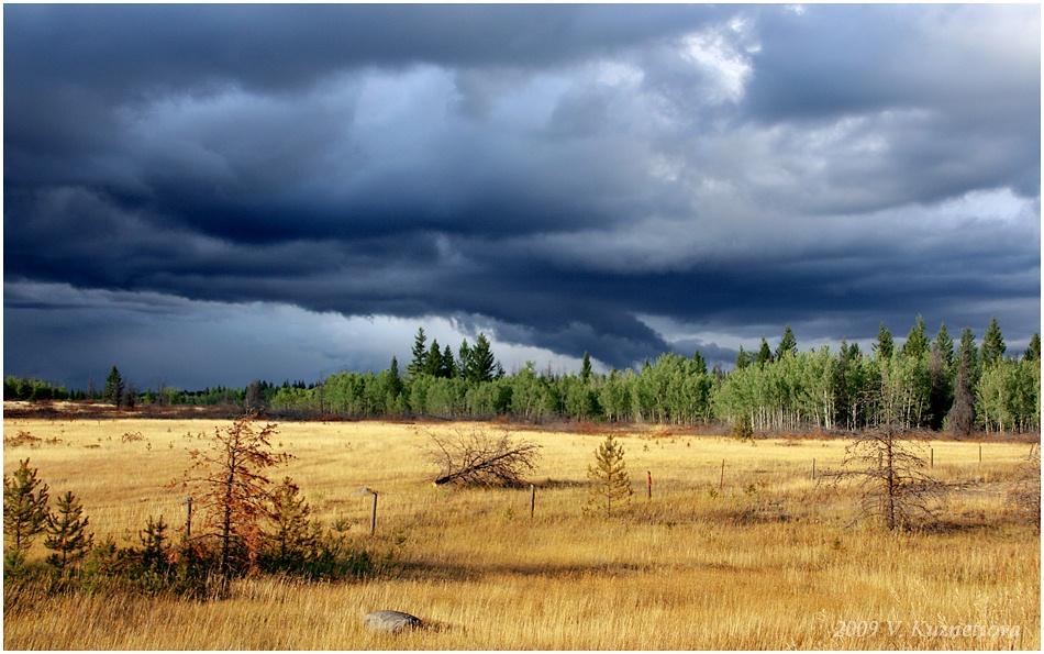 """фото """"Предгрозовой этюд"""" метки: пейзаж, облака, осень"""