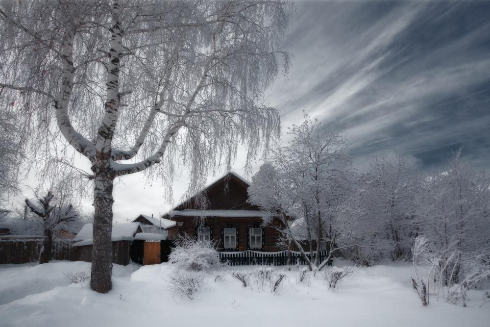 """фото """"Морозное прошлое"""" метки: пейзаж, зима"""