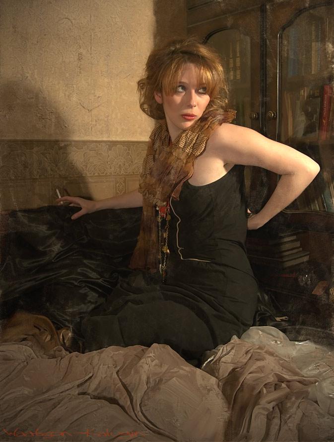 """photo """"Professor"""" tags: portrait, genre, woman"""