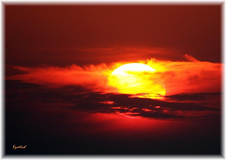 "фото ""Banal sunset"" метки: пейзаж, закат, ночь"