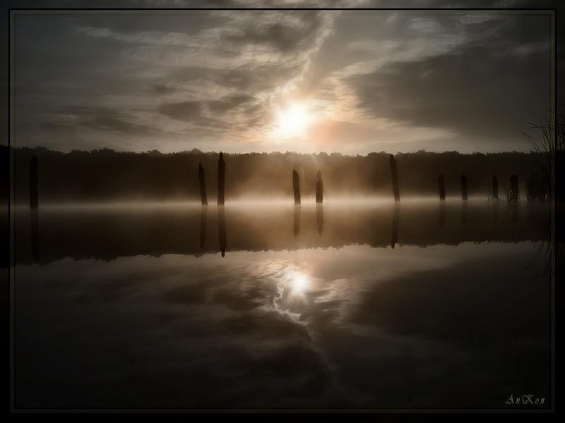 "photo ""Morning fog..."" tags: landscape,"