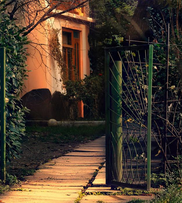 "фото ""Гурзуф"" метки: архитектура, пейзаж,"
