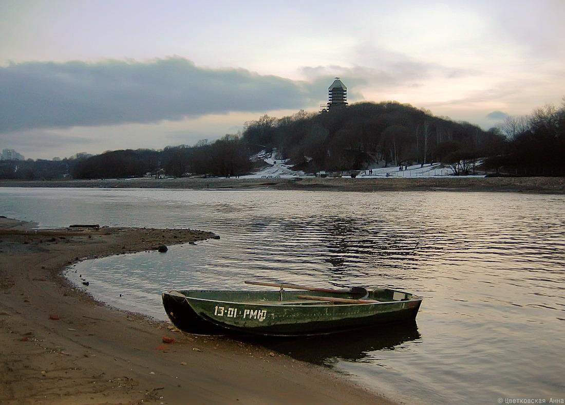 "фото ""***"" метки: пейзаж, вода, лодки, река"