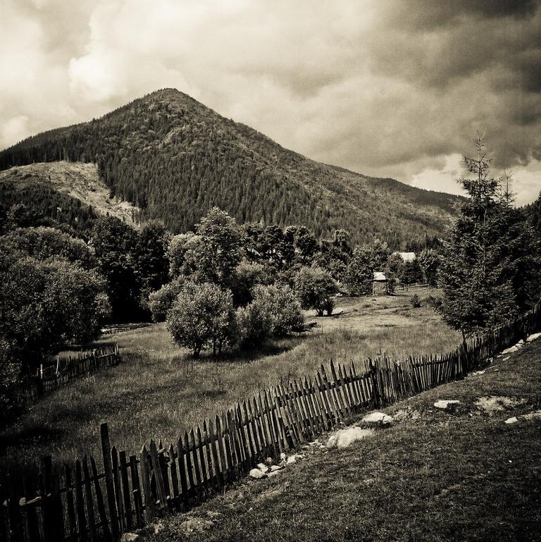 """фото """"Тихая жизнь"""" метки: пейзаж, черно-белые, горы"""
