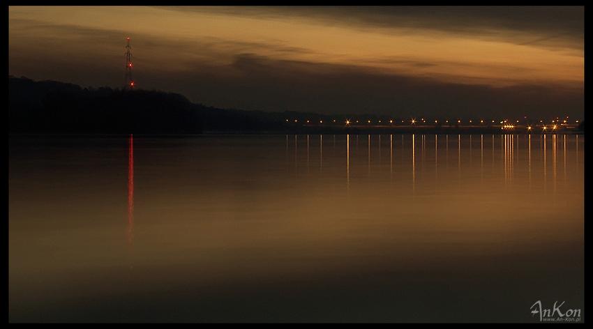 "photo ""Wloclawek - Morning over Vistula"" tags: landscape, water"