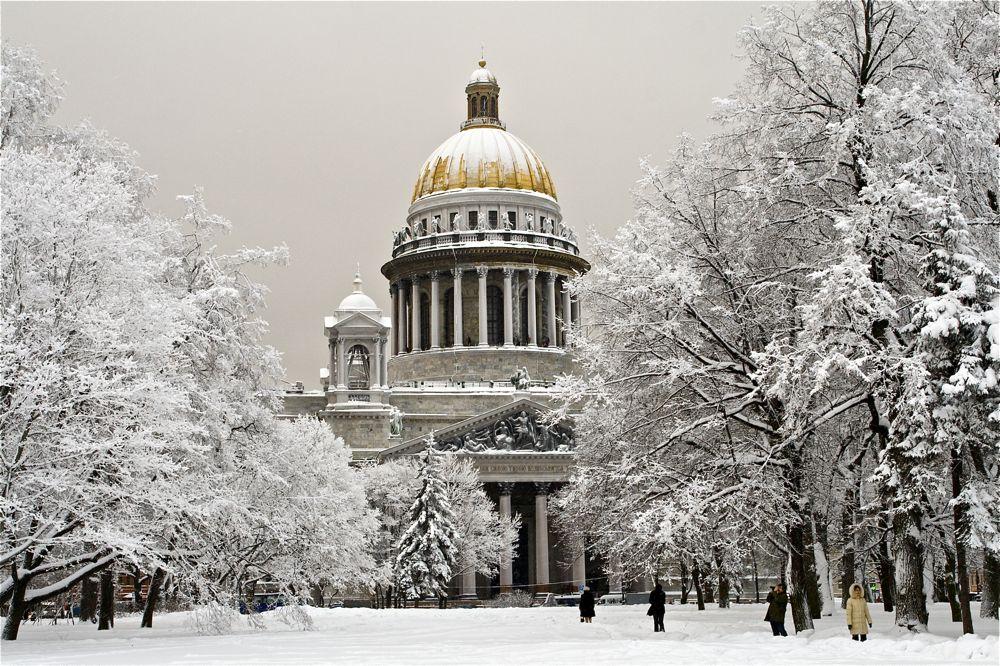 "фото ""Зима в Питере"" метки: архитектура, пейзаж, зима"
