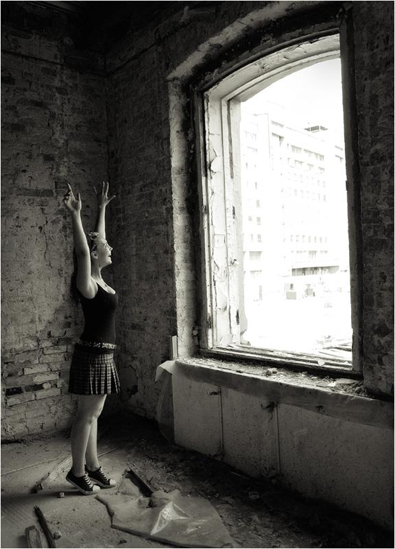 """фото """"Я вижу свет!!!"""" метки: портрет, черно-белые, женщина"""
