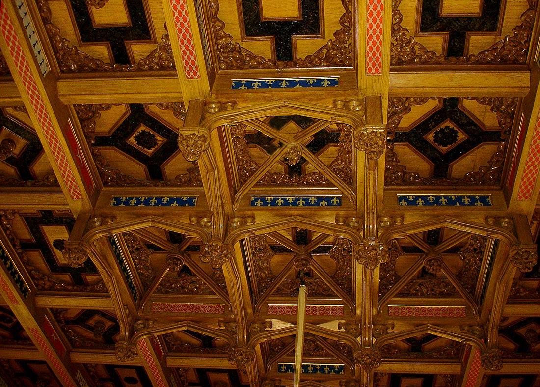 """photo """"Parquet ceiling"""" tags: architecture, travel, landscape, Europe"""