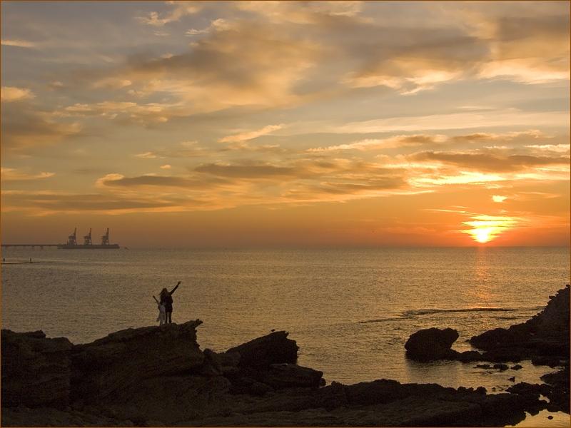 """фото """"Просто  на закате"""" метки: пейзаж, закат"""