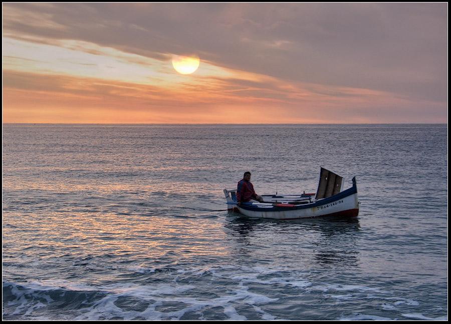 """фото """"на рыбалку"""" метки: пейзаж, вода, закат"""