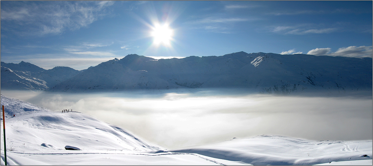 """photo """"Over clouds"""" tags: landscape, panoramic, mountains"""