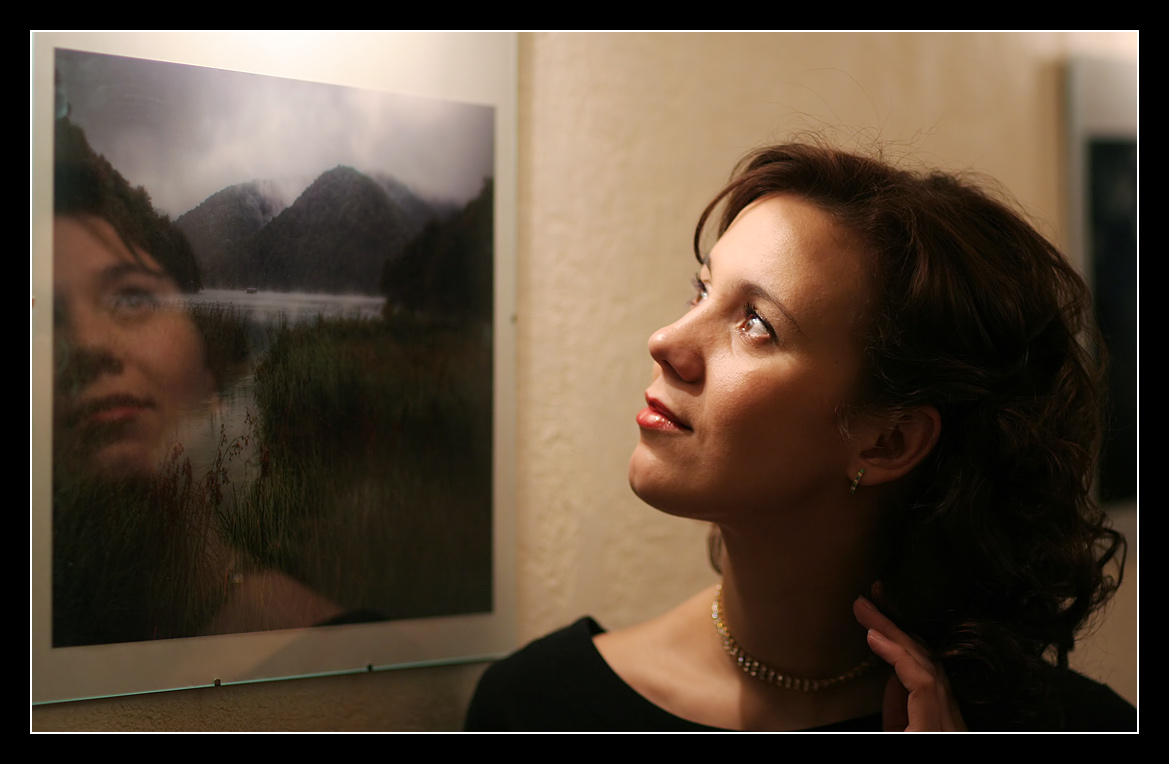 """photo """"The parallel world"""" tags: portrait, woman"""