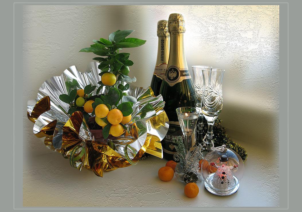 "photo ""New Year's still life"" tags: still life, montage,"