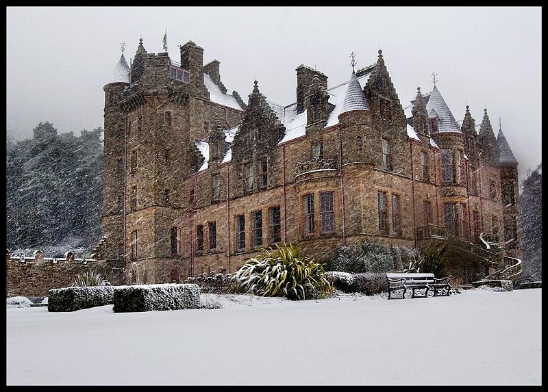 """photo """"Belfast Castle"""" tags: landscape, architecture, winter"""