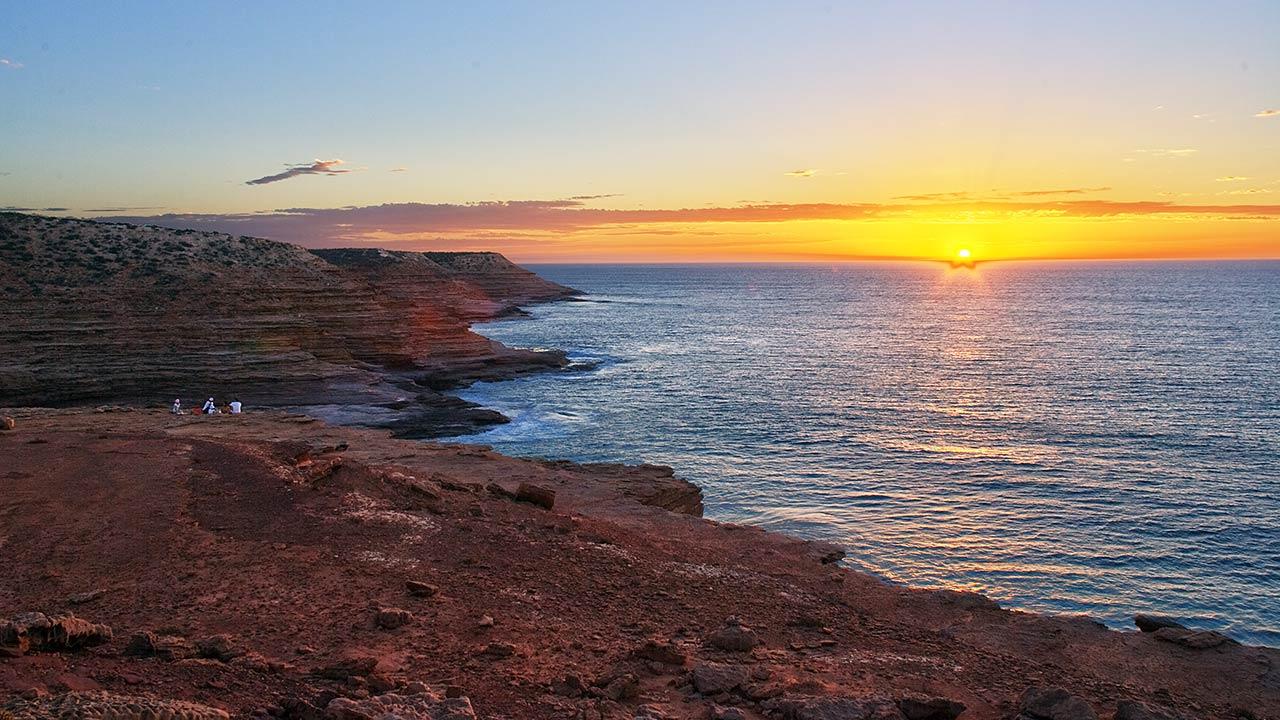 "photo ""Kalbarry sunset"" tags: landscape, travel, Australia, sunset"