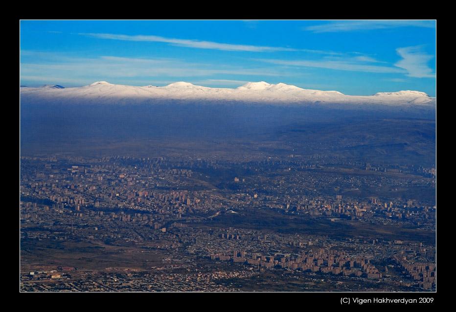 "photo ""Above Yeravan"" tags: travel, city,"
