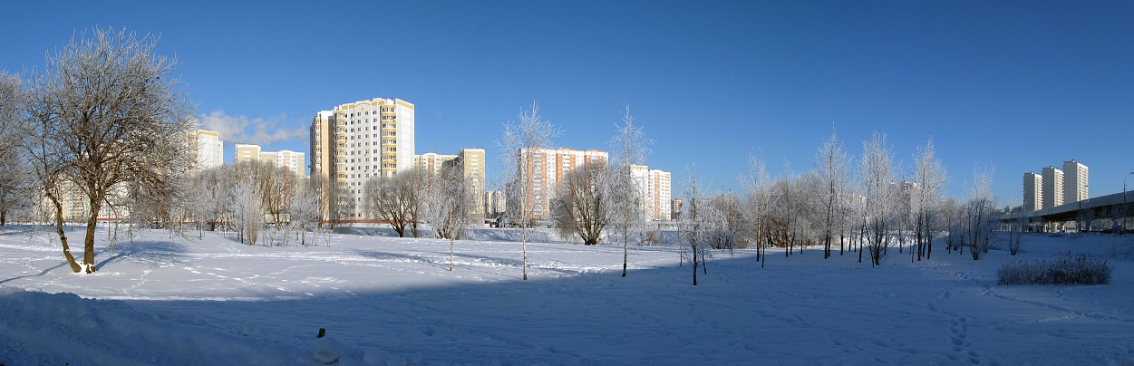 "photo ""Just very nice day"" tags: landscape, city, winter"