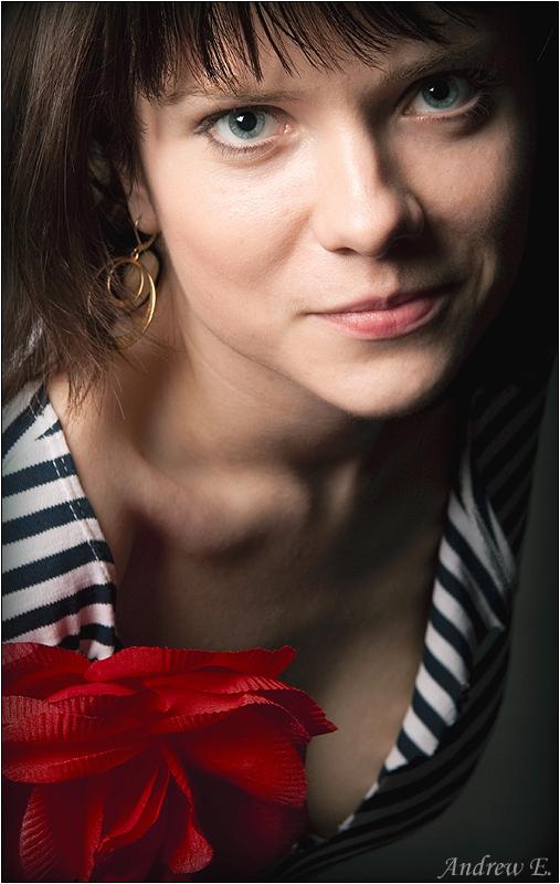 "photo ""Daria"" tags: portrait, woman"