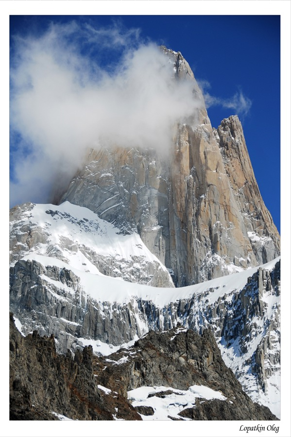 """photo """"View on Mnt. Fitz Roy"""" tags: landscape, travel, South America, mountains"""