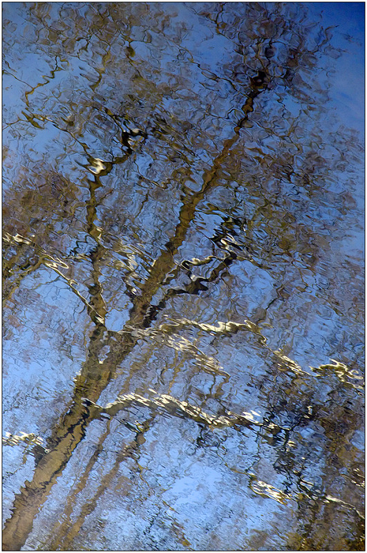 "photo ""Mirages of the winter river Churilikha - 4"" tags: abstract, fragment,"