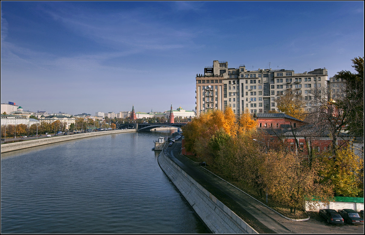 "photo ""Autumn in Moscow"" tags: landscape, city, autumn"