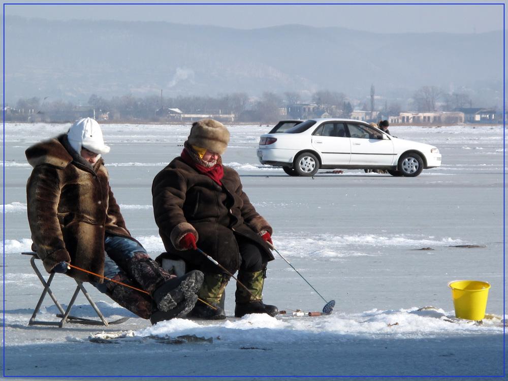 "photo ""Лутьше на льду..."" tags: landscape, reporting, winter"