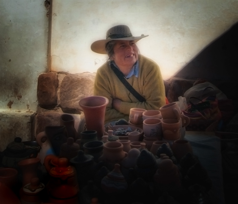 """photo """"music in the soul.."""" tags: portrait, travel, South America, woman"""