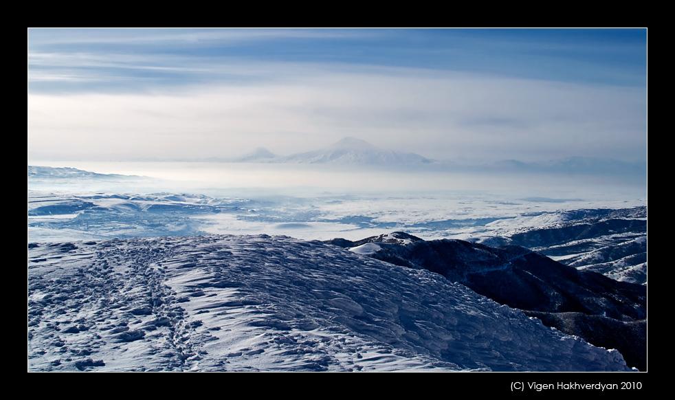 "photo ""Ararat from Tsaghkadzor"" tags: landscape, travel, mountains"