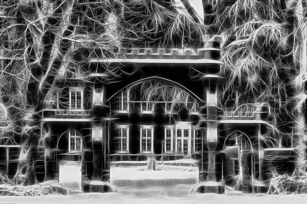 "photo ""house clee"" tags: black&white, digital art,"
