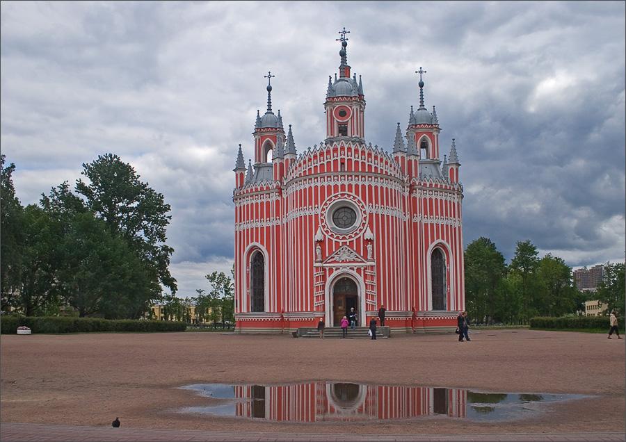 """photo """"Cesme Church,"""" tags: architecture, city, landscape,"""
