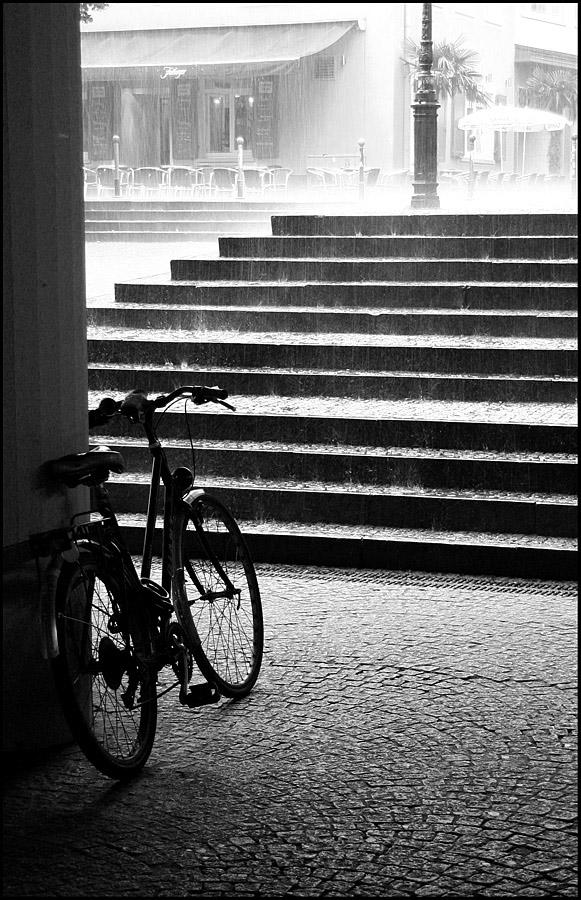 """photo """"The Summer Rain."""" tags: black&white,"""
