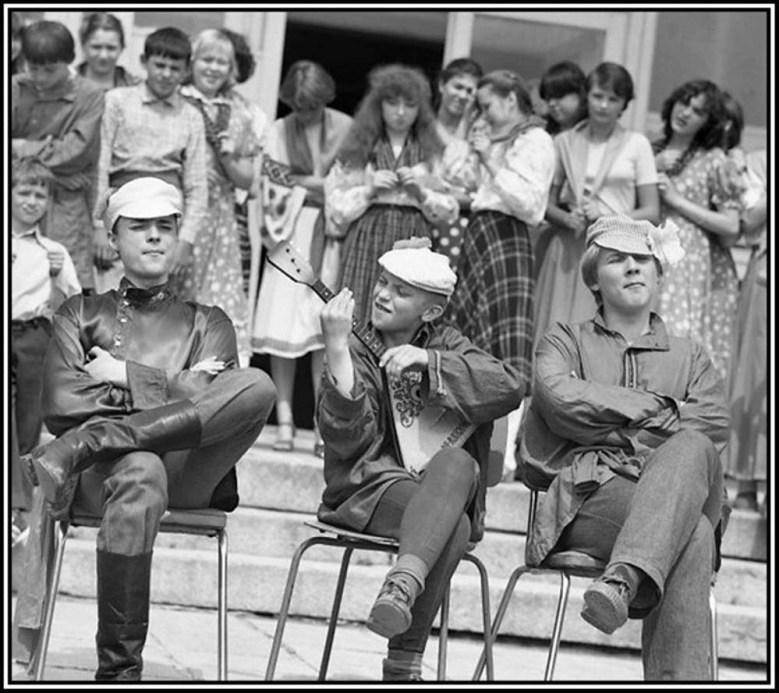 """фото """"1982 г. """"Ярославские робята..."""""""" метки: жанр,"""