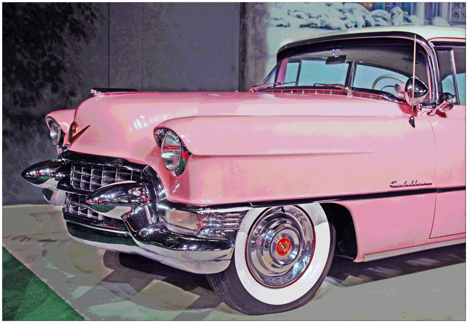 "photo ""Elvis Presley's Caddy"" tags: technics, travel, North America"