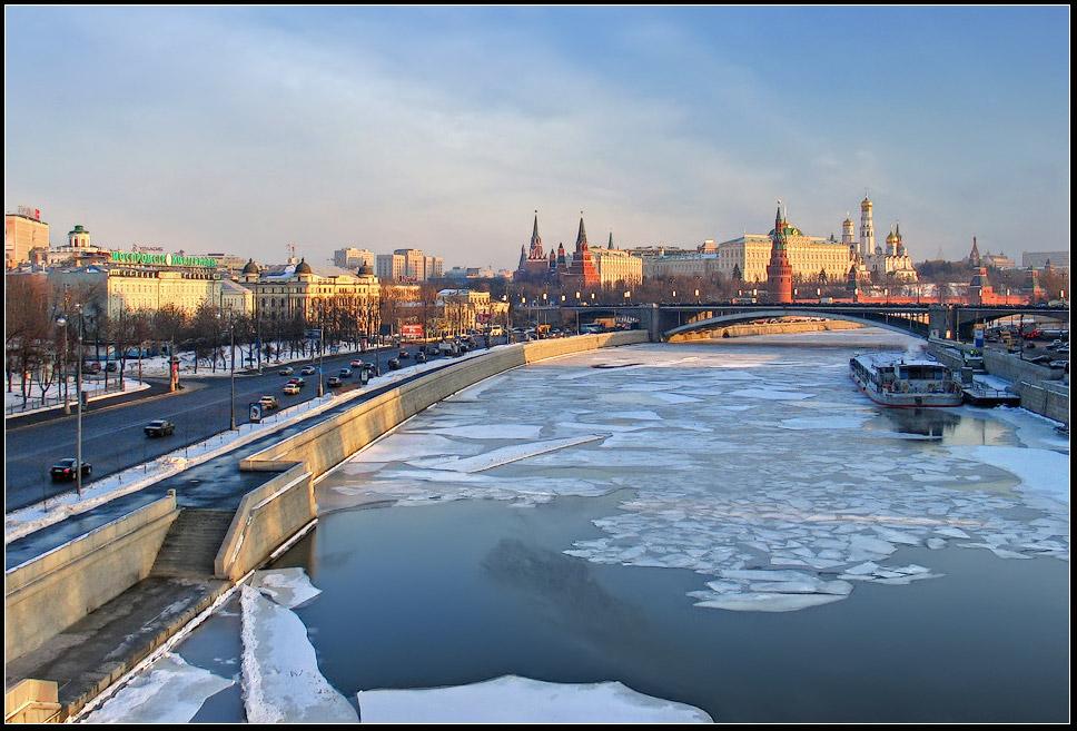 "photo ""Last ice"" tags: landscape, city, spring"