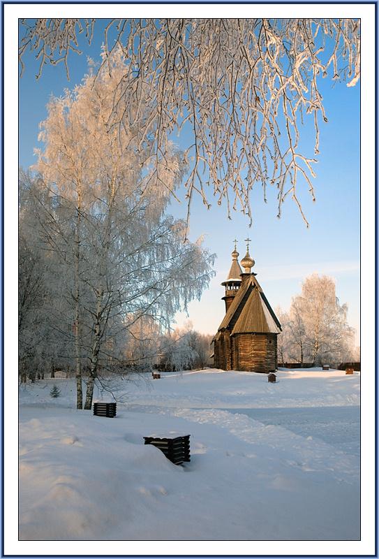 "фото ""Русская сказка"" метки: пейзаж, архитектура, зима"