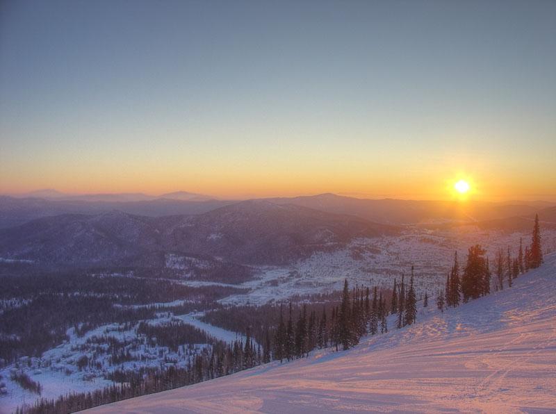 """фото """"Утро на горе"""" метки: пейзаж, горы"""