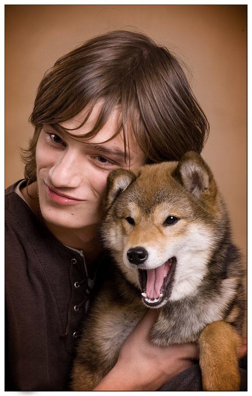 """photo """"***"""" tags: nature, portrait, man, pets/farm animals"""