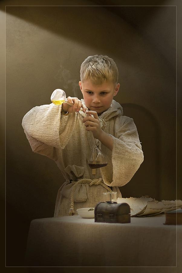 "photo ""монах"" tags: portrait, children"