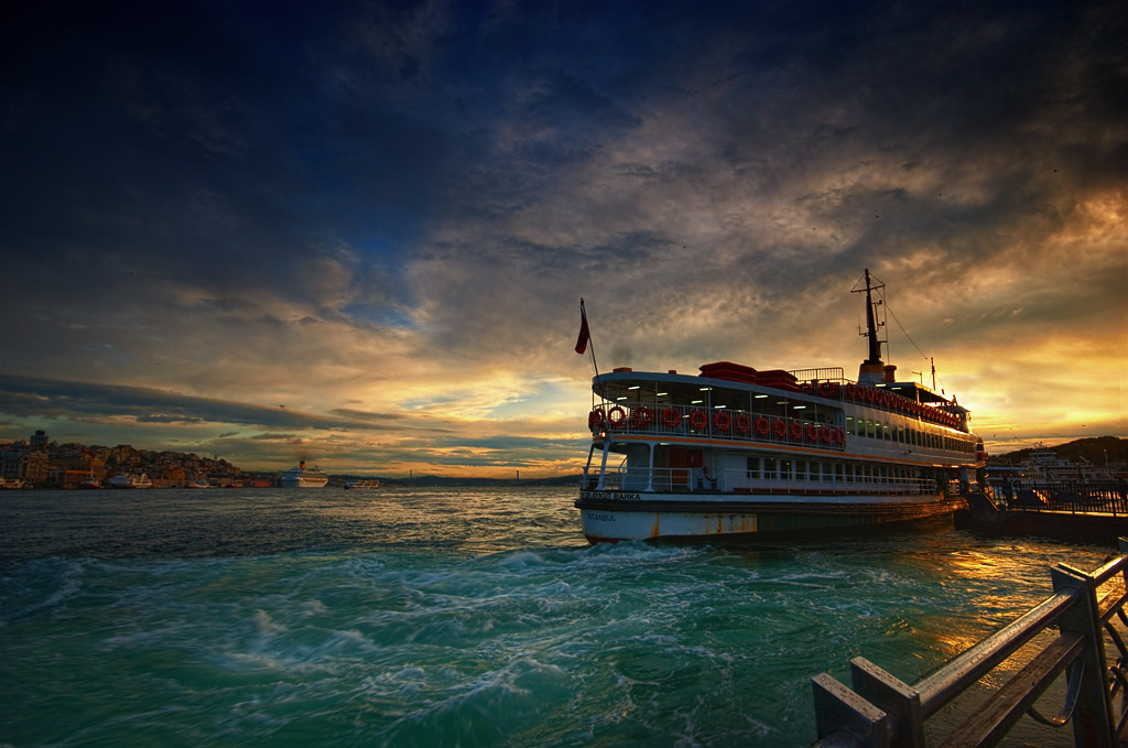 "фото ""morning ship"" метки: пейзаж, город, вода"